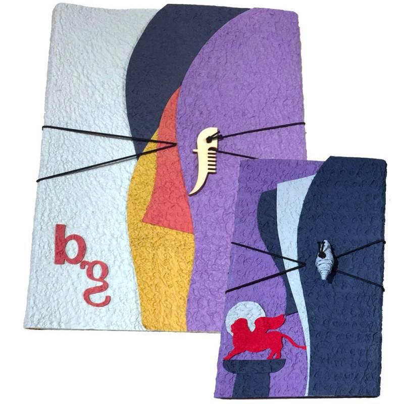 Album e quaderno in carta di cotone