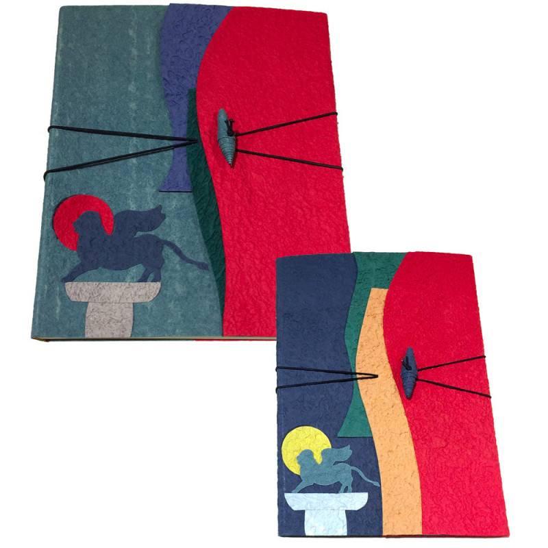 Álbum y cuaderno de papel de algodón