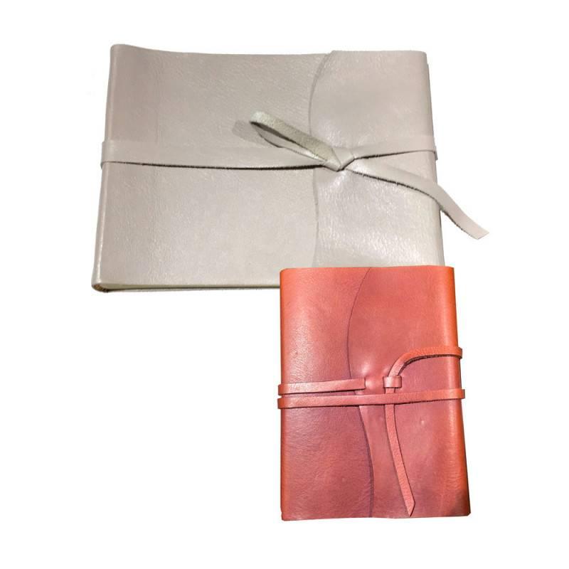 Album e quaderno in pelle
